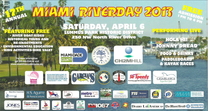 Miami River Day 2013